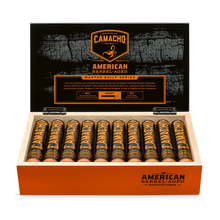 Load image into Gallery viewer, American Barrel Aged Robusto Tubos full box cigars great for wedding and groomsmen gifts