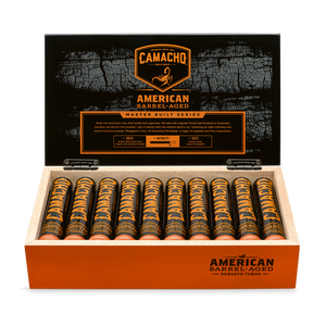 American Barrel Aged Robusto Tubos full box cigars great for wedding and groomsmen gifts
