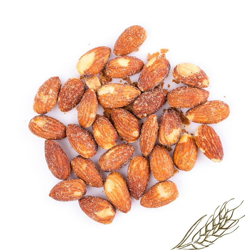 Roasted, salted whole almonds