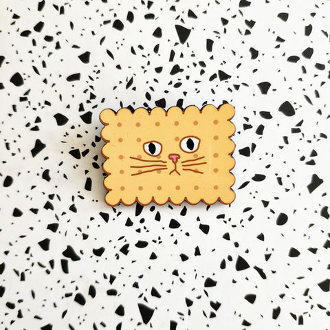 cookie cat pin