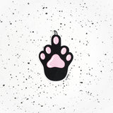 Middle finger paw sticker