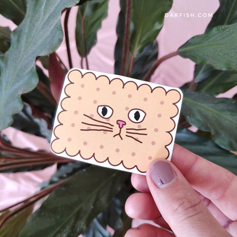 Cookie cat Sticker
