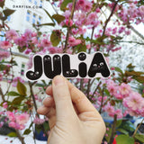 PERSONALIZED NAME STICKER!