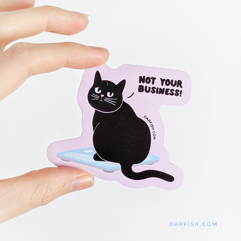 Not you business Cat Magnet