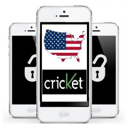 Cricket - Apple iPhone 4,4S,5, 5S, 5C [CLEAN IMEI]