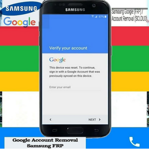 Samsung Google (FRP) / Account Removal (SCLOUD)