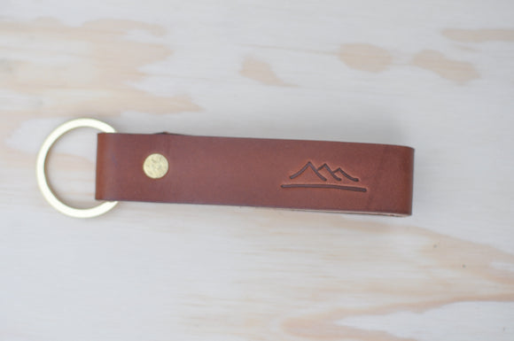 Brown Key Strap