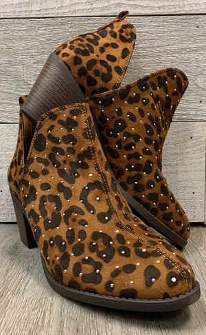 """Safari"" Cheetah Bootie"