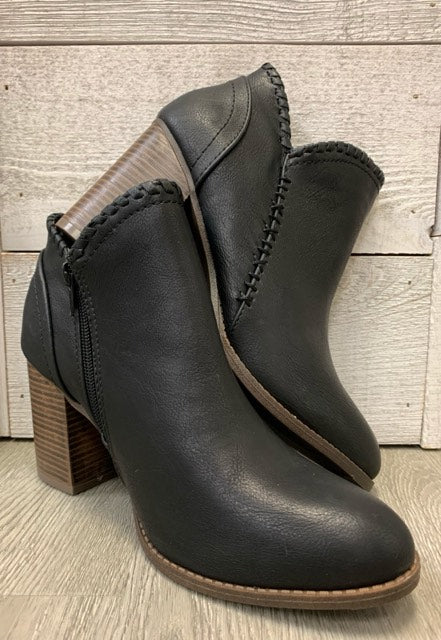 """Sharp Dressed"" Black Bootie"