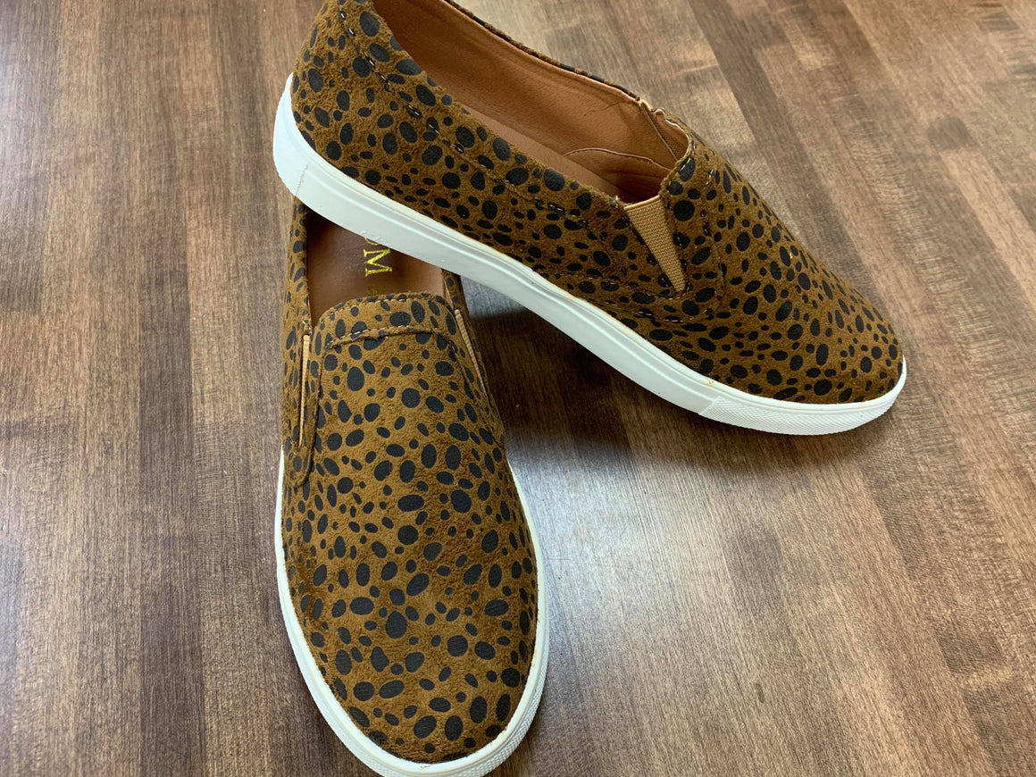 """Wild at Heart"" Cheetah Sneakers"