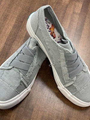 Sweet Gray Blowfish Tennis Shoes