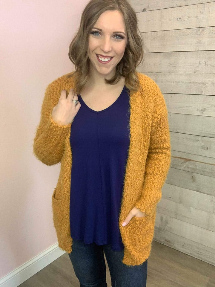 """Must Have"" Mustard Cardigan"