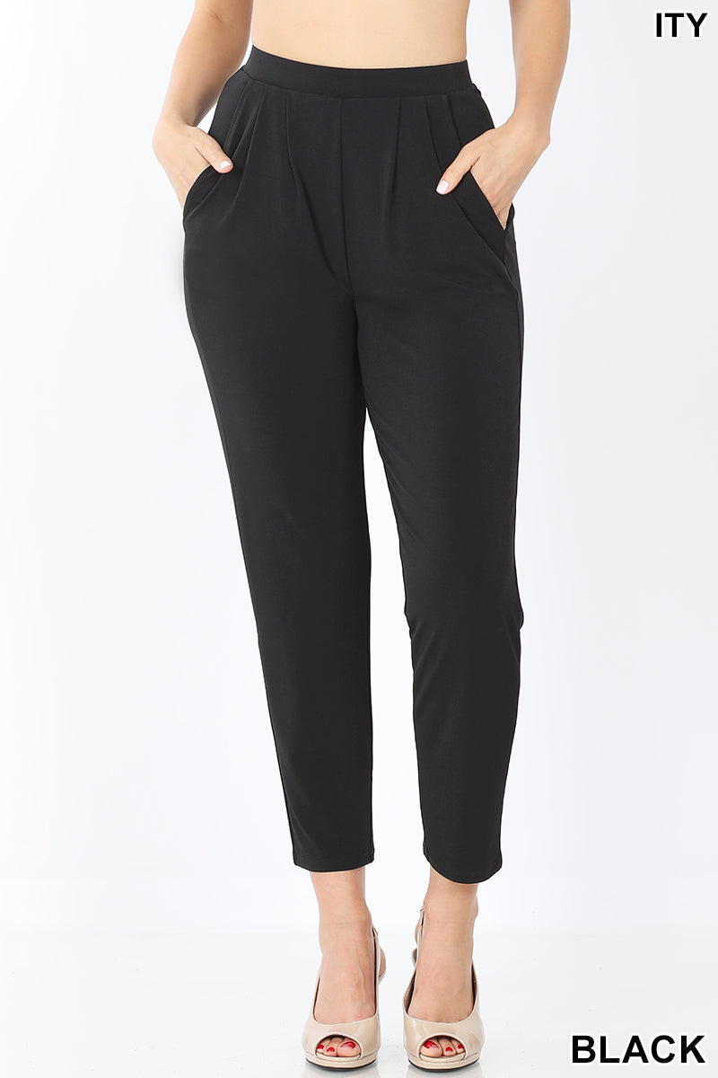 """With The Flow"" Black Pants"