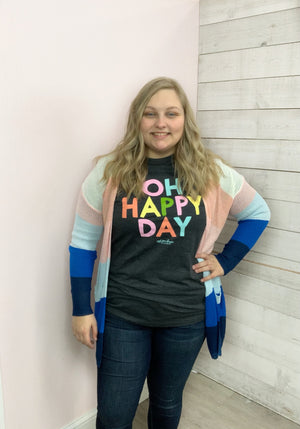 """Oh Happy Day"" Graphic Tee"