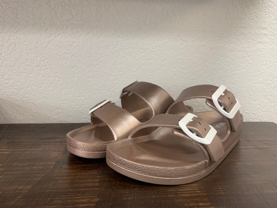 Rose Gold Jasmin Sandal