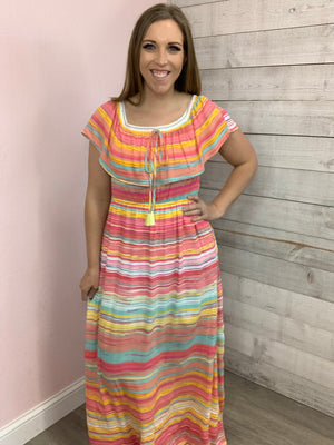 """Wow Factor"" Multicolor Dress"
