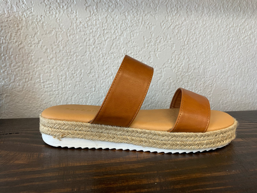 """Supernatural"" Tan Sandal"
