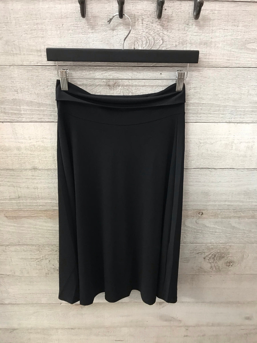 """Platinum Status"" Black Skirt"