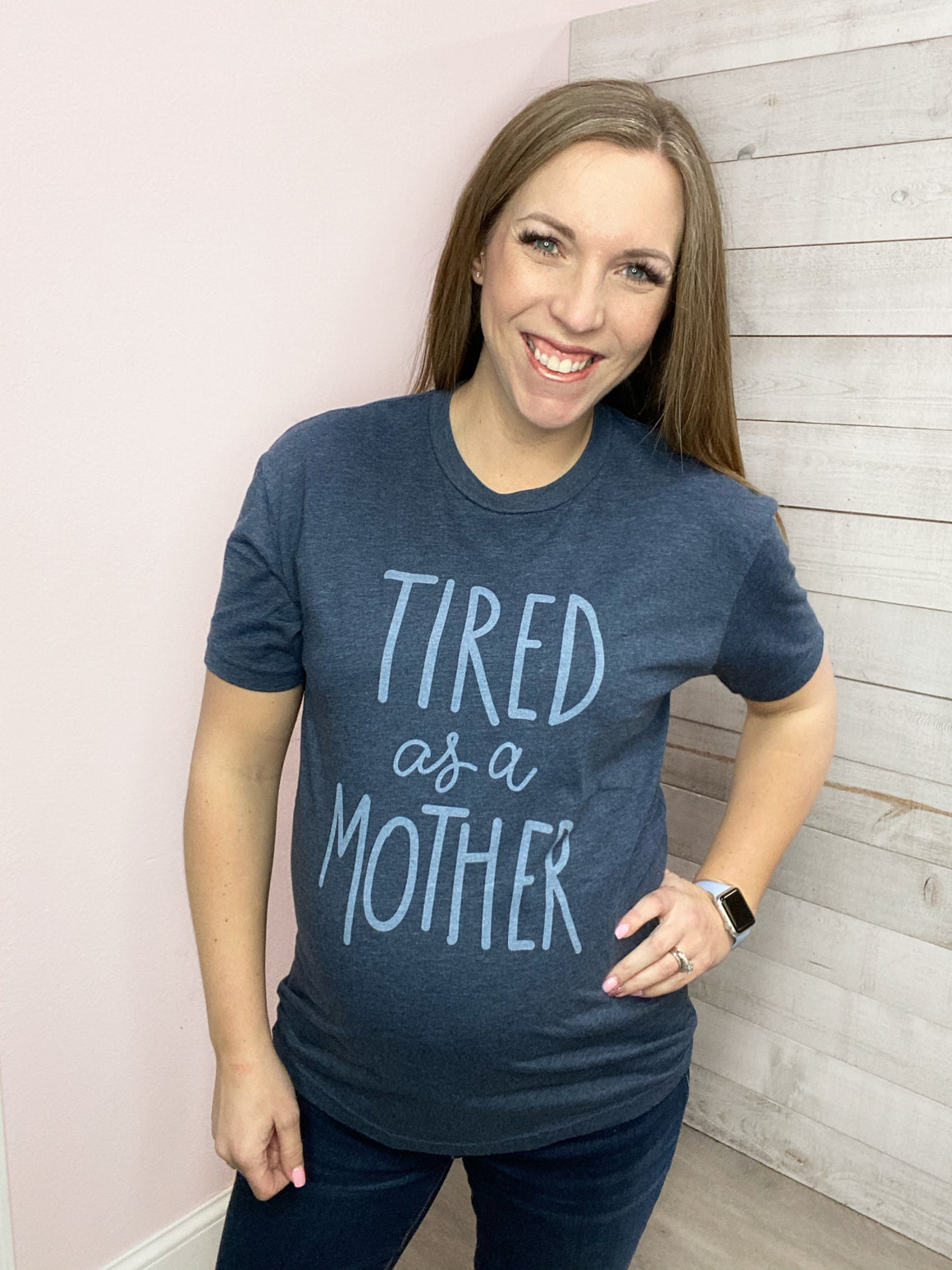 """Tired As A Mother"" Graphic Tee"