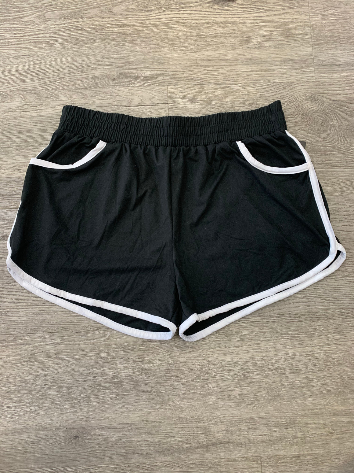 """Cozy Comfy"" Shorts (Black)"
