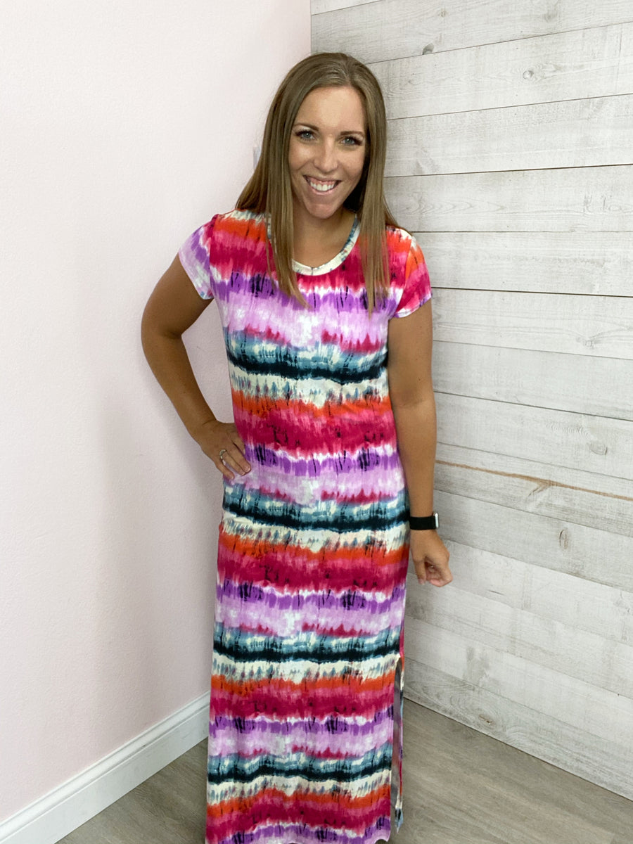 """You're The One"" Multicolor Dress"