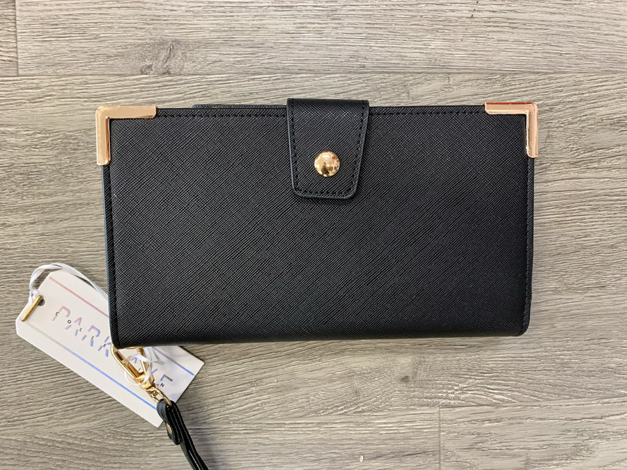 Snap Clutch w/ Zipper Pocket and Card Slots