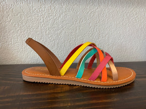 """Way To You"" Multicolor Sandal"