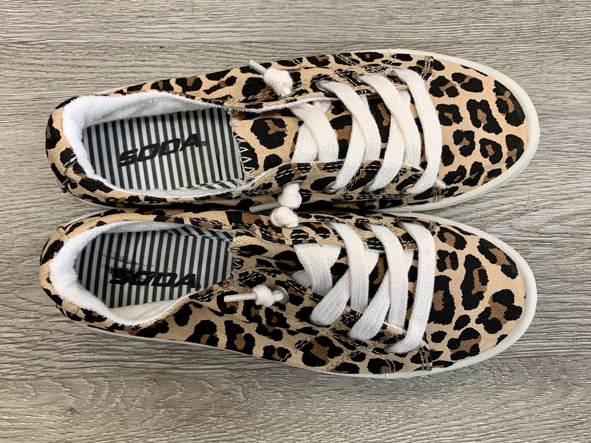 """Run And Hide"" Leopard Shoes"