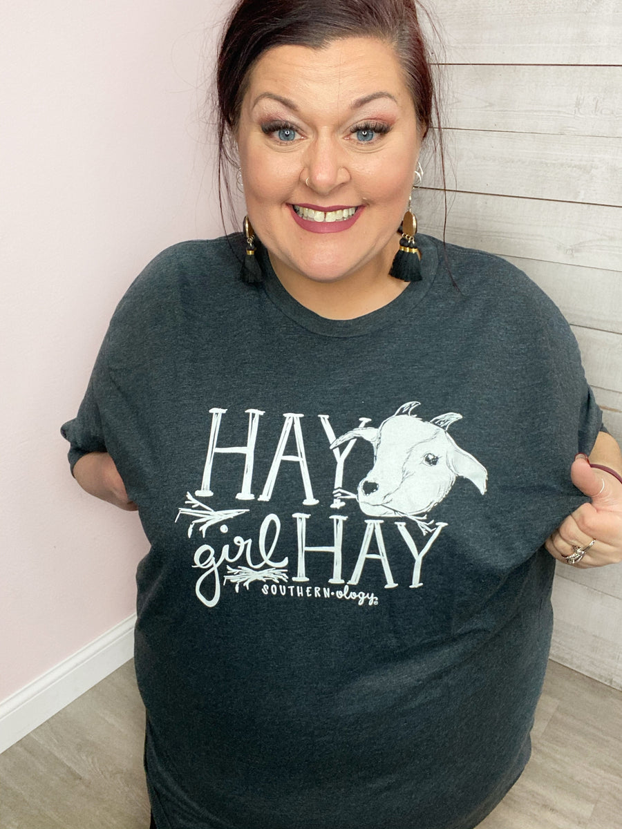 """Hay Girl Hay"" Graphic Tee"