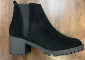 """Made For Walking"" Black Boots"