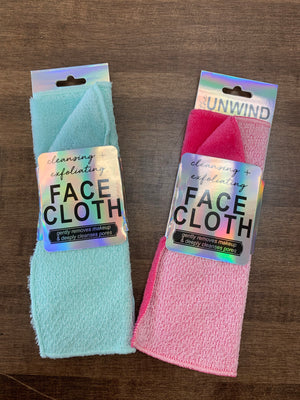Cleansing + Exfoliating Face Cloth