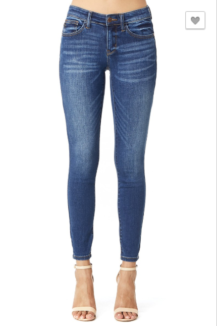 Jean- Judy Blue Hand Sanded Skinny 82106