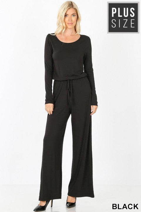 "CM ""Jump On It"" Jumpsuit (Black)"