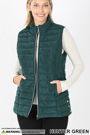 "BF ""Sticken With It"" Puff Vest"