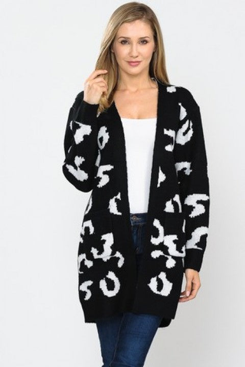 "BF- ""On To Better Things"" Cheetah Cardigan"