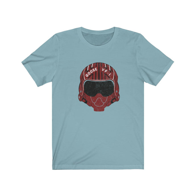 Goose Fighter Pilot Helmet - Vintage design Top Gun t-shirt
