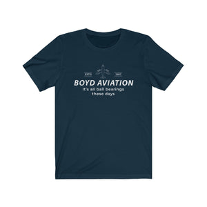 Boyd Aviation - Fletch Ball Bearings t-shirt