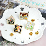 Cat Stamps set /4PCS/ - catzzcorner