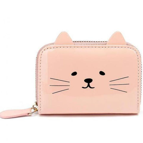 Kawaii Cat Face Card Holder - catzzcorner