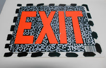 Load image into Gallery viewer, Graffiti Sign Exit by Angel Ortiz LA2 Street Art