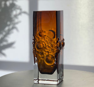 Musica glass vase designed by Tamara Aladin for Riihimaen Lasi (Riihimaki)