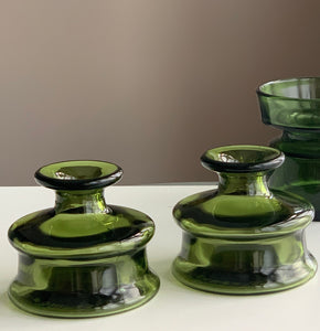Dansk Design 'Inkwell' candleholders by Jens Quistgaard