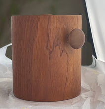 Load image into Gallery viewer, A stunning 1970's Danish vintage teak ice bucket