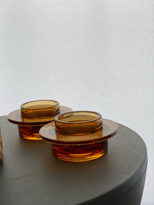 Nuutajarvi Notsjo tea light holders designed by Oiva Toikka