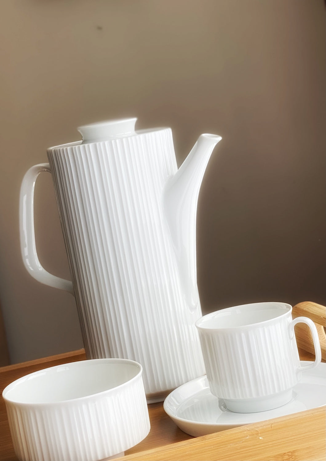 Tapio Wirkkala Coffee Service for Rosenthal 'Variation' 1970s
