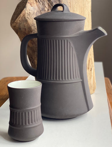 Jens Harald Quistgaard's 'Fluted Flamestone' coffee set