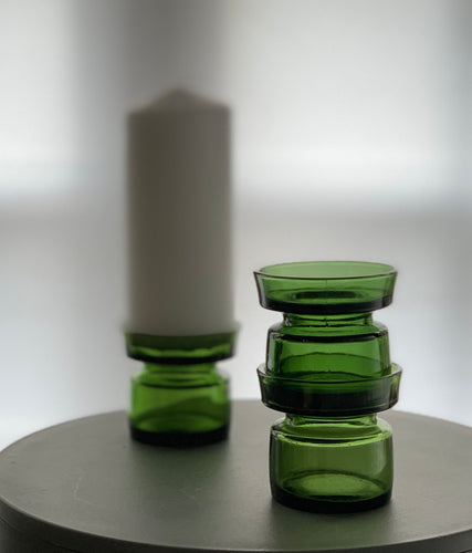 Candleholder designed by Jens Harald Quistgaard for Dansk Design in the 1960s.