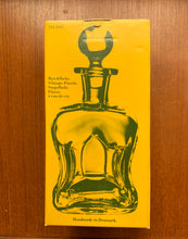 Load image into Gallery viewer, 'Snapse Doctor' Holmegaard Danish Art Glass Decanter