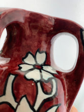 Load image into Gallery viewer, Vintage Erik Ploen Modernist Norweigian Tri Handle Flower Vase Made in Norway