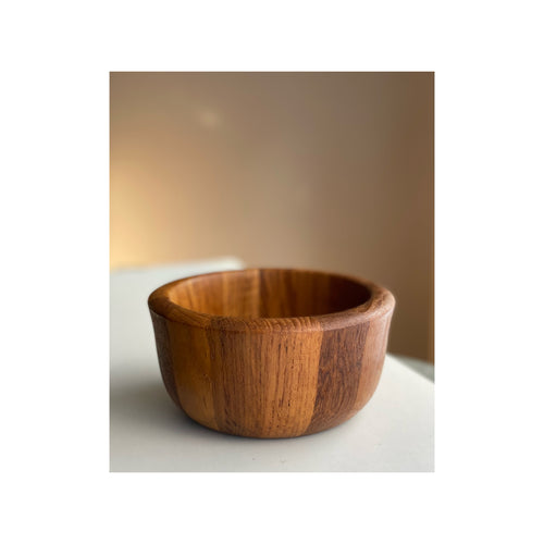 Teak Bowl designed by Jens Harald Quistgaard for Dansk Design in the 1960s